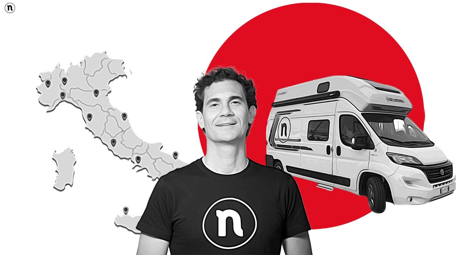 In viaggio verso N-Conference: ecco gli Unbreakable raggiunti dal Ninja Van