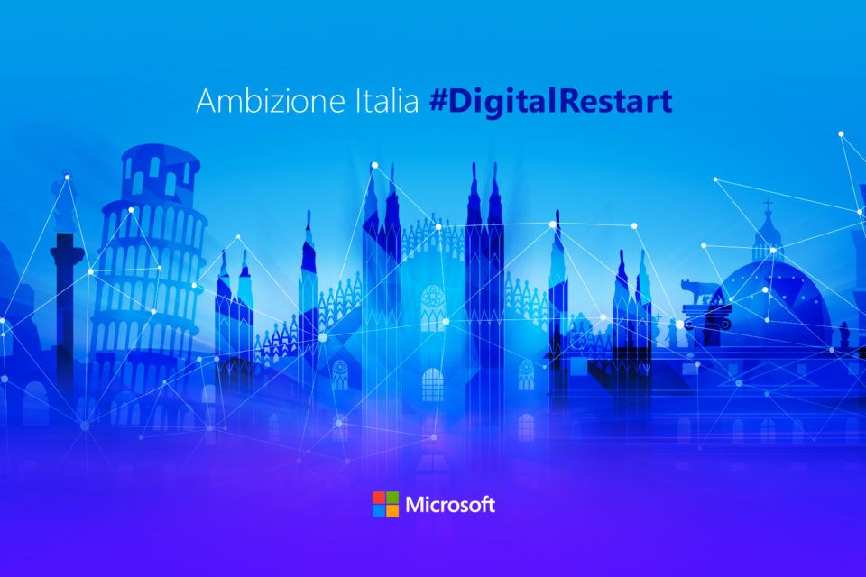 Ambizione Italia Digital Restart Microsoft