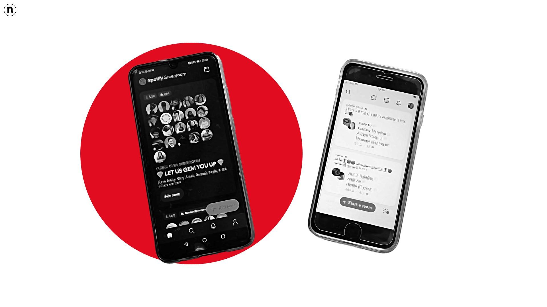 Greenroom, la nuova social app di Spotify che sfida Clubhouse