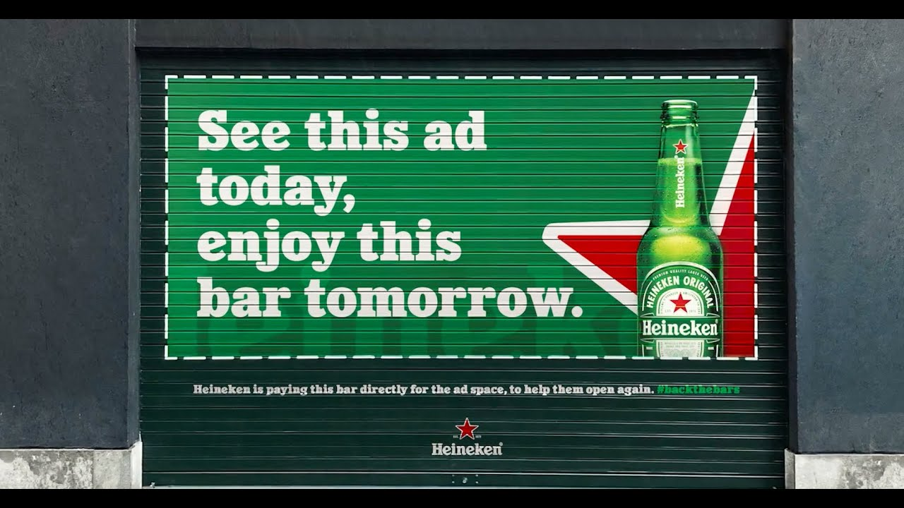 cannes lions 2021_publicis italy_shutter ads_heineken_ninja marketing