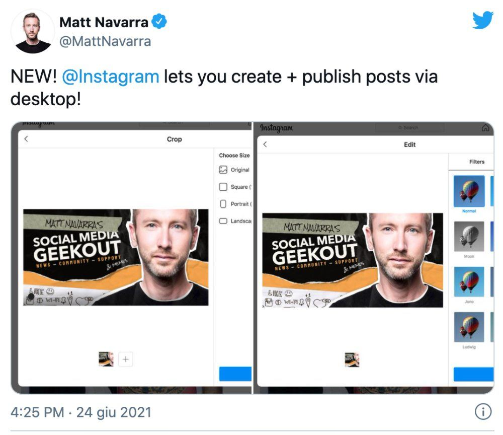 Matt Navarra Twitter