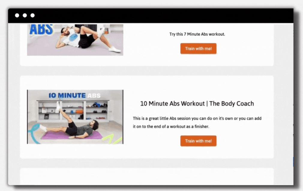 Praxis digital tool per allenarsi