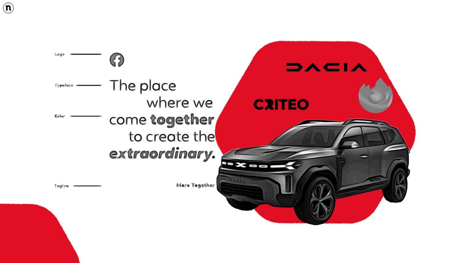 Rebranding di Giugno: le nuove identità di Dacia, Criteo, Firefox e Facebook