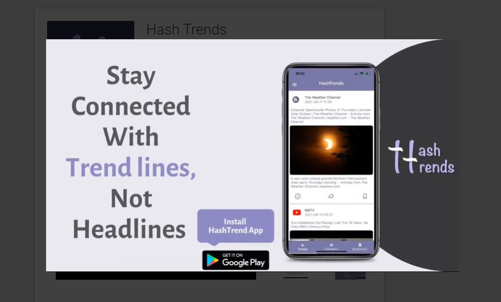 hash trends tool