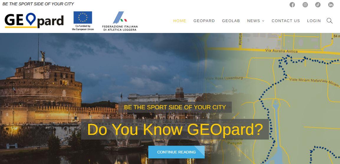 geopard homepage
