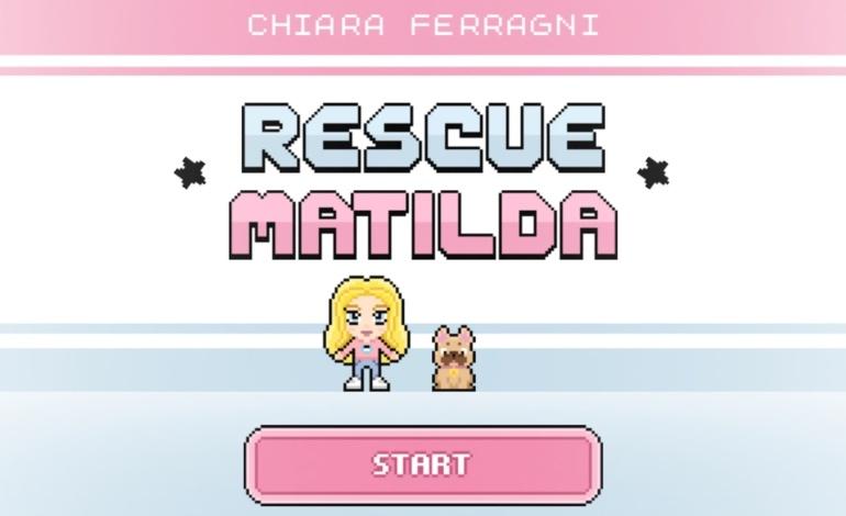 """Chiara Ferragni videogioco """"Rescue Matilda"""""""