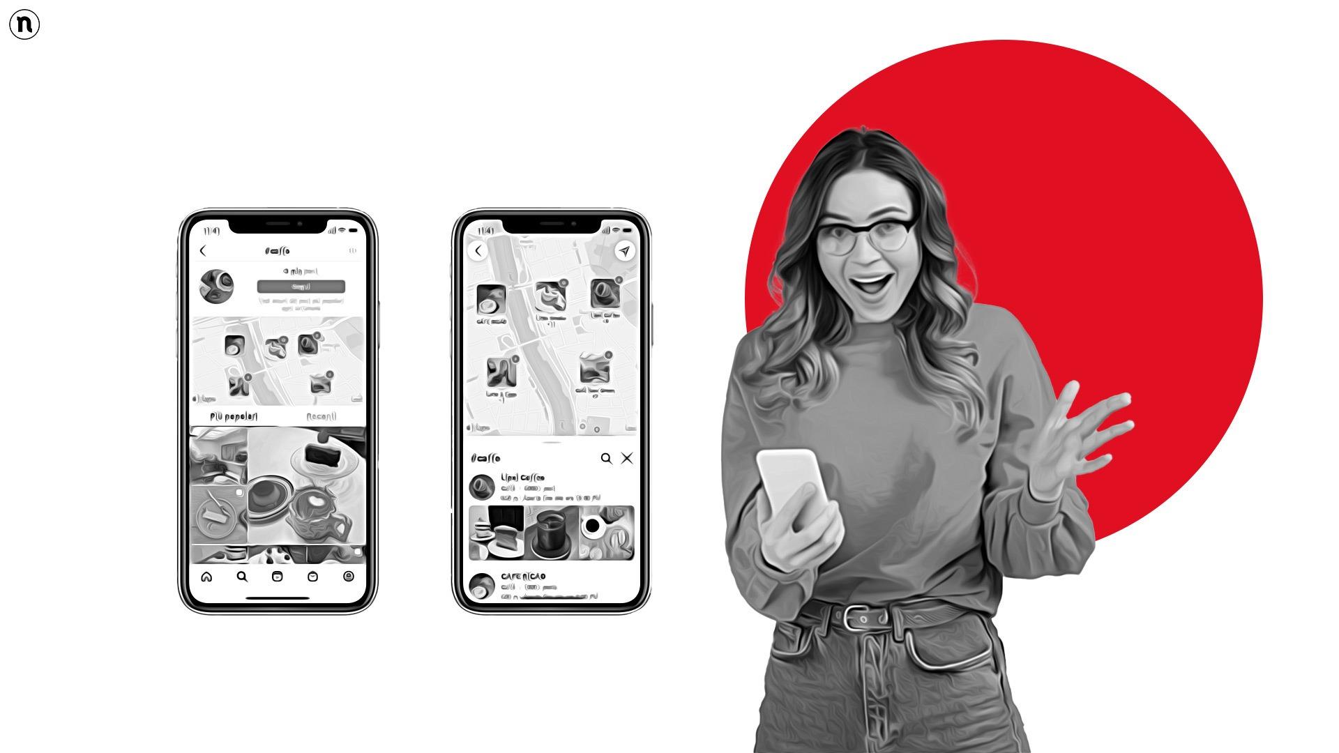 """Instagram lancia """"Cerca sulla mappa"""": scopri ristoranti e location di tendenza"""