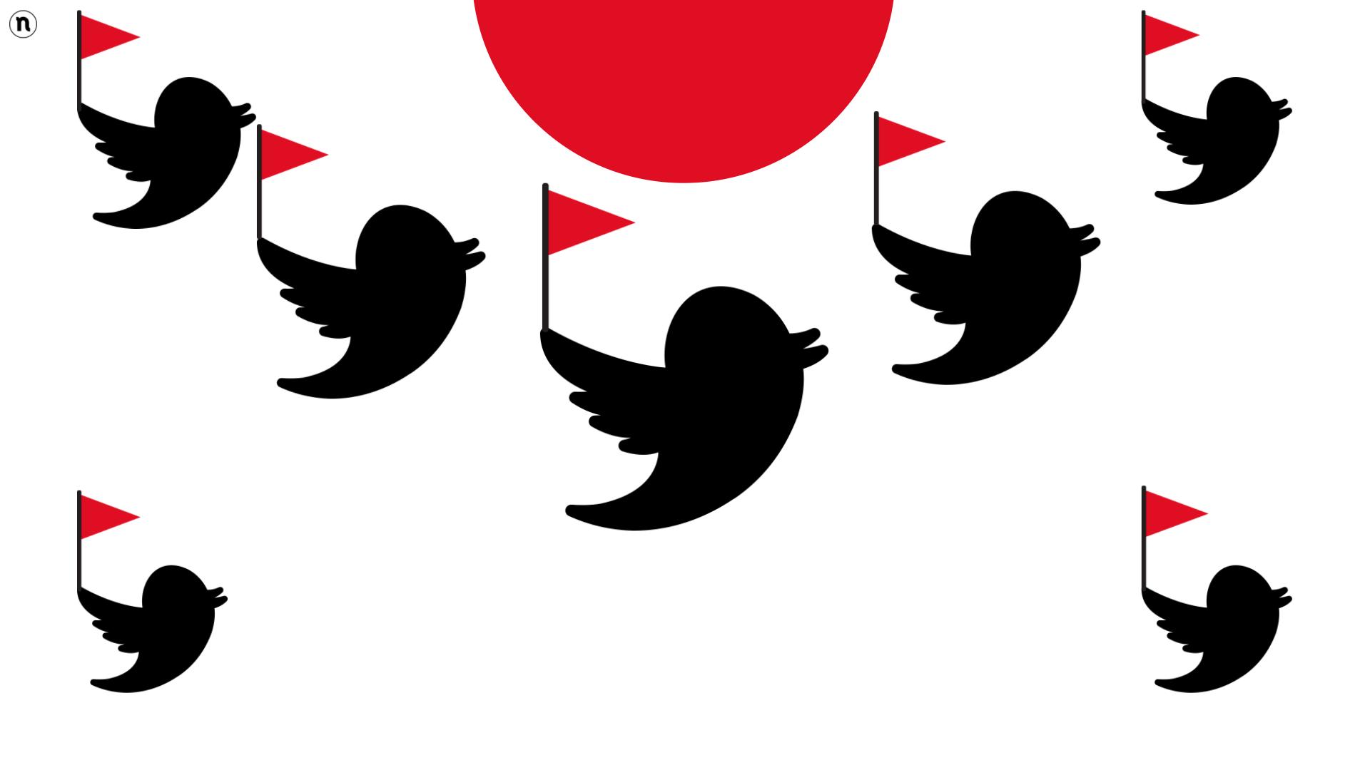 Spopolano le bandierine rosse su Twitter, scopriamo cosa sta succedendo